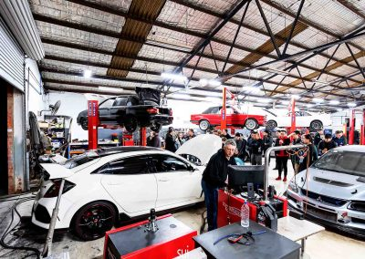 Service Center 14 Service Center Here at Revzone, we have all the proper tools and experience required to perform full service on any makes of cars. Our technicians are professionals and certified. There is rarely a problem that we cannot repair efficiently and effectively.