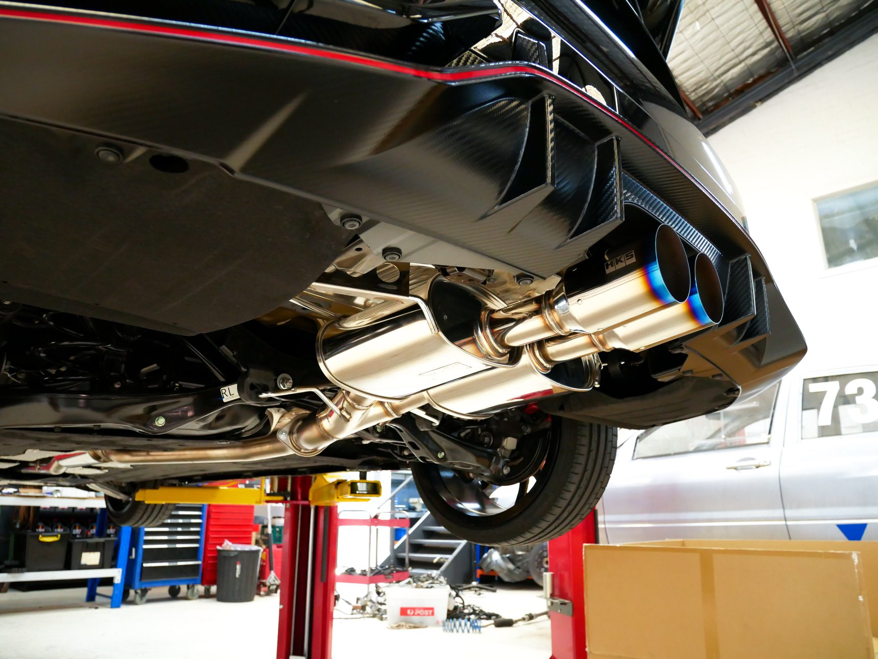 Performance Upgrades 7 Performance Upgrades From fitting an off the shelf exhaust systems, to a fully customised exhaust system for your car, we can do it all here at RevZone. Our years of experience allow us to provide you with the best available system for whatever your budget is. Some popular exhaust brands we stock are HKS, Fujitsubo and Invidia.